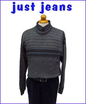 μπλουζα ανδρικη πλεκτη πουλοβερ γκρι 20